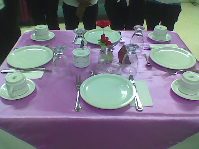 Hoteler a y turismo consejos b sicos montajes de mesa - Mesas de desayuno ...