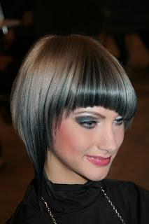 Angled Bob Hairstyle