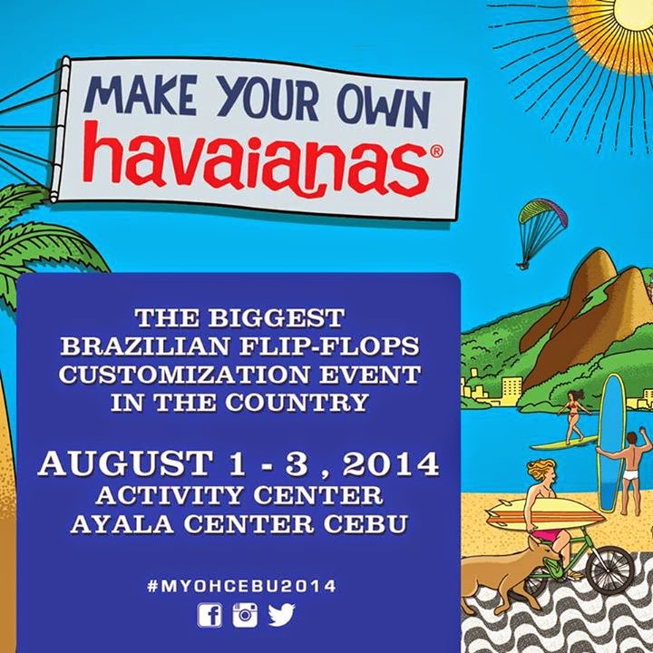 Make Your Own Havaianas Cebu 2014 (#MYOHCebu2014)