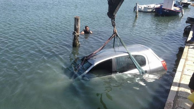 Νεκρός 67χρονος που έπεσε με το αυτοκίνητό του στο λιμάνι του Πειραιά