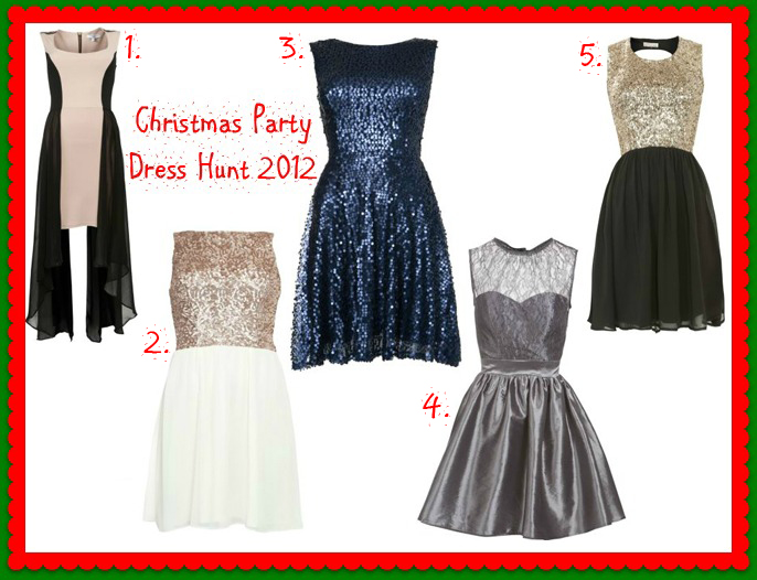 christmas party dress hunting in new look