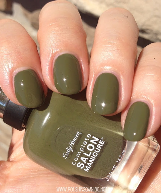 Sally Hansen Loden Green