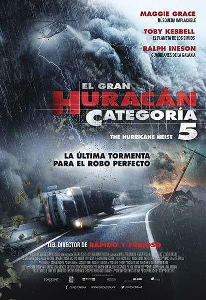 The Hurricane Heist (El Gran Huracán Categoría 5) (2018) 720p y 1080p HDTV mkv AC3 5.1 ch subs español