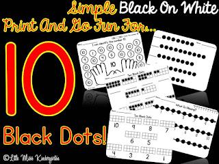 https://www.teacherspayteachers.com/Product/Ten-Black-Dots-Printables-924059
