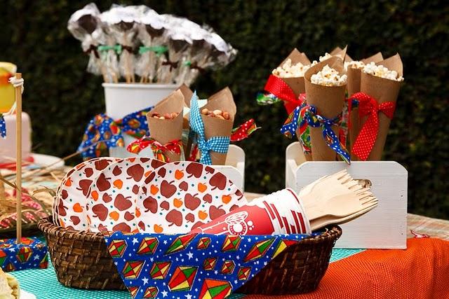 decoracao alternativa para festa junina:Festa, Sabor & Decoração: Idéias de decoração para festa junina