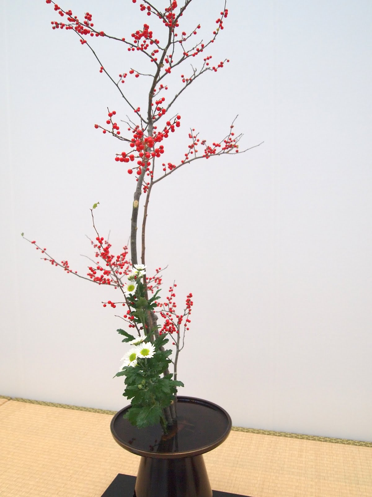 Vintasia Japan Flower Arrangement Ikebana