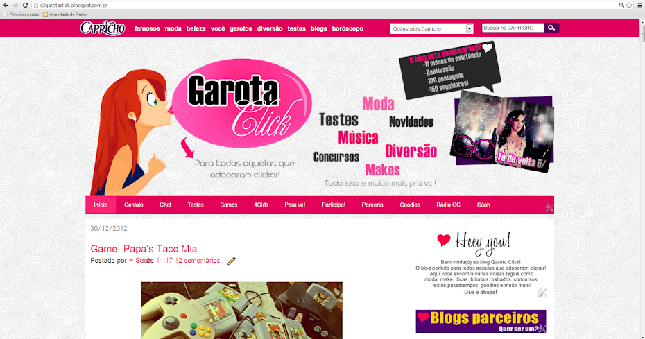 Garota Click