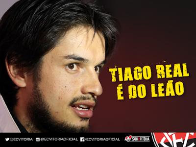 Vitória anuncia contratação de Tiago Real