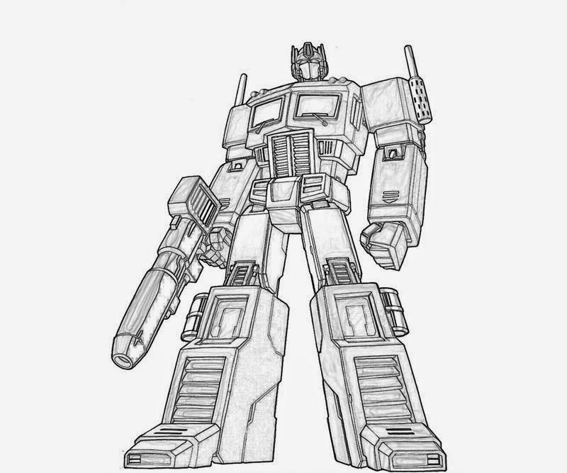 Coloring Pages transformers Optimus Prime printable | Batman ...