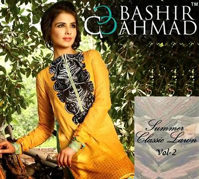 Bashir Ahmed Classic Lawn 2014 Vol-2