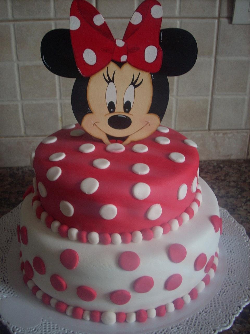 Super Torta Minnie Mousse Para El Segundo Plea  Os De Triana