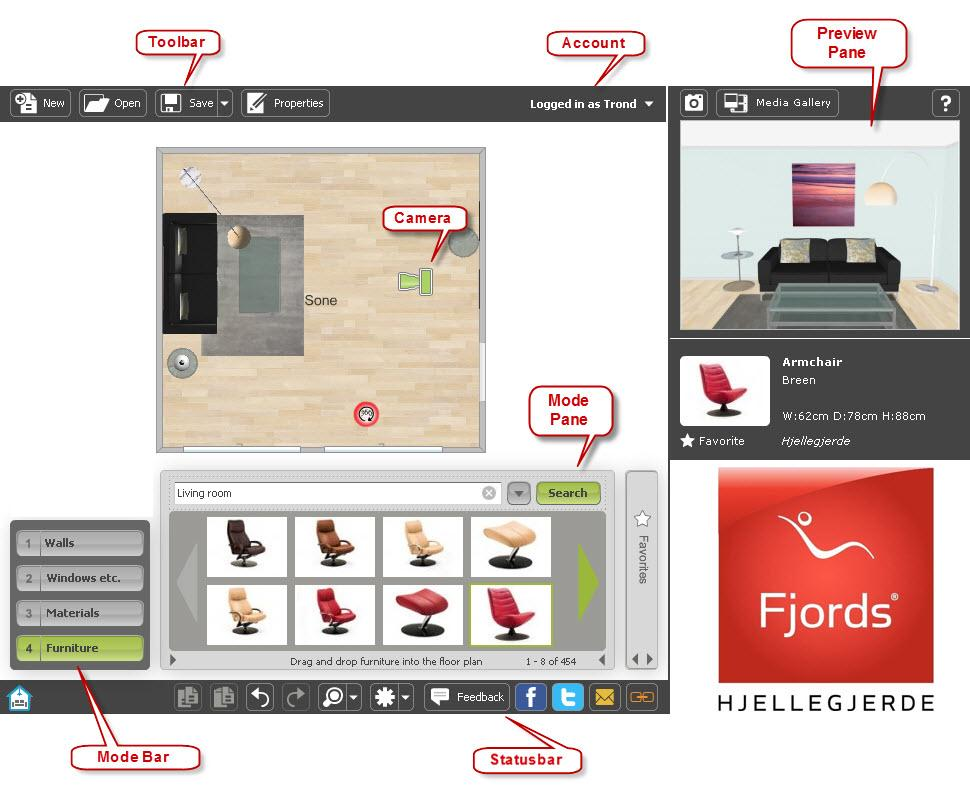 Pixelg dise a tu apartamento u oficina en 3d desde la web for Disena tu oficina online