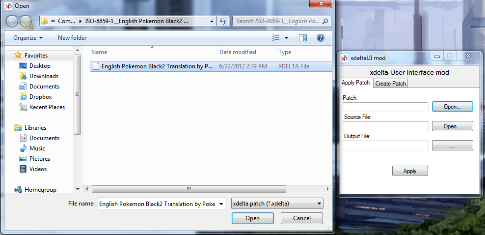 pokemon black exp patched rom