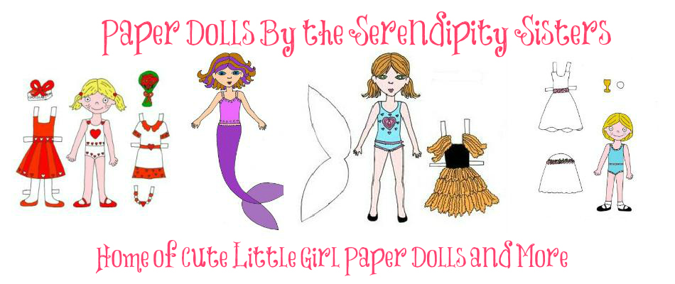Paper Dolls by The Serendipity Sisters