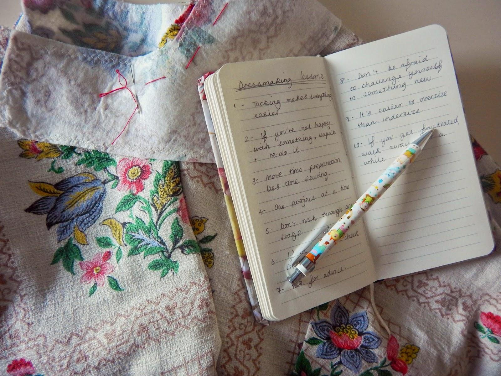 dressmaking rules