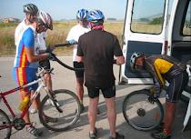 Ruta del Cid 2010 cuarta etapa Calamocha - M. de Aragón VIDEO