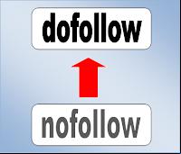 dofollow, nofollow, rel nofollow menjadi dofollow