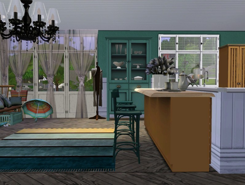 my sims 3 blog 3 bedroom 2 bath with walkout basement by blissfully24