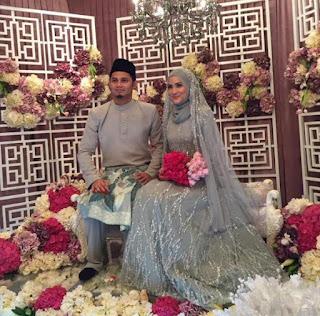 hanis zalikha kahwin