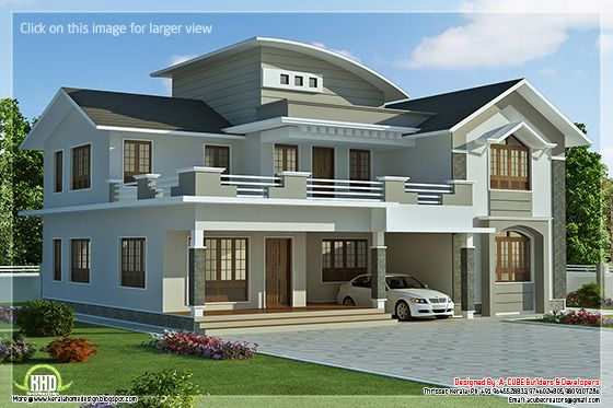 new homes designs photos. New villa elevation design 2960 sq feet 4 bedroom  Kerala home and floor