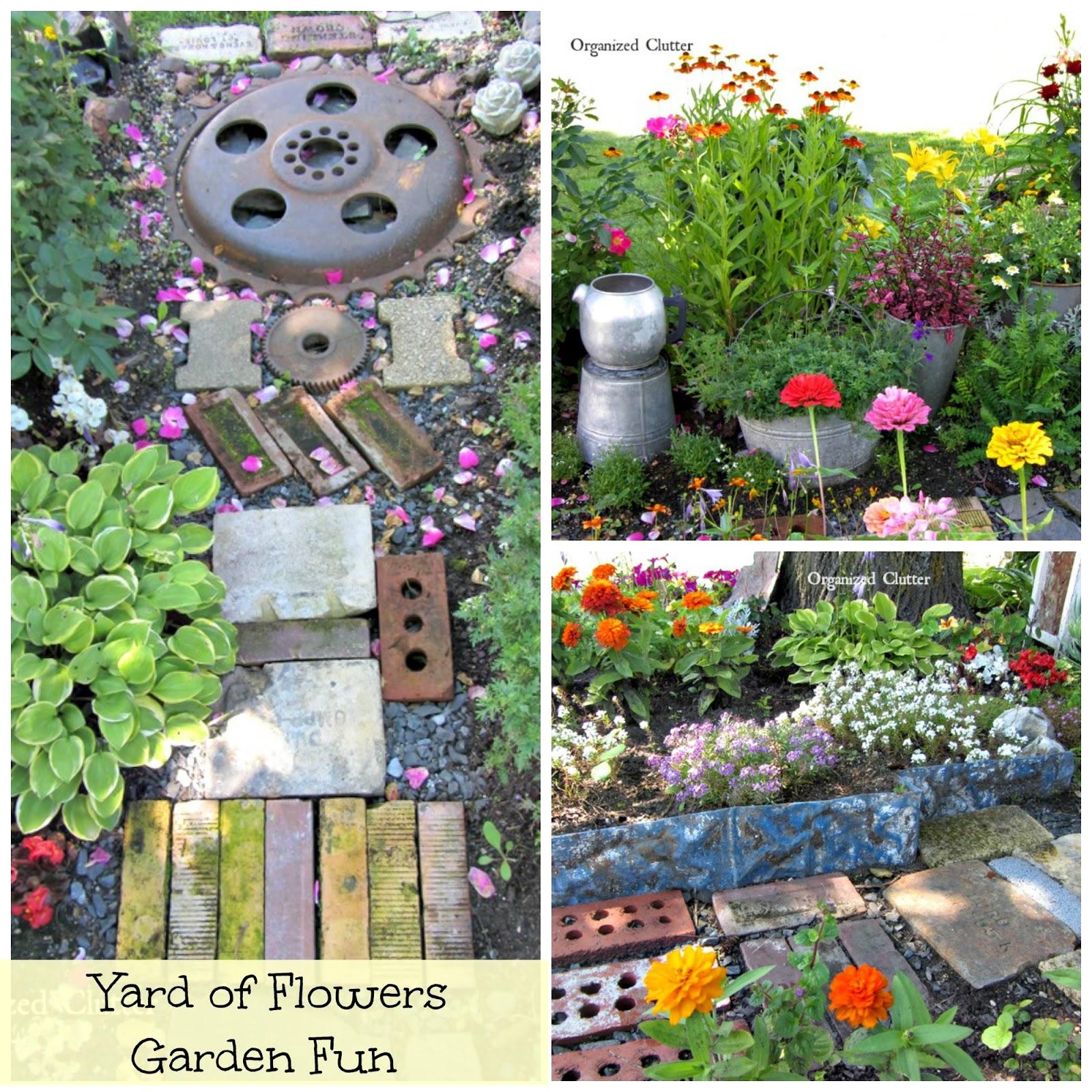 Annuals, Perennials & Junk www.organizedclutterqueen.blogspot.com
