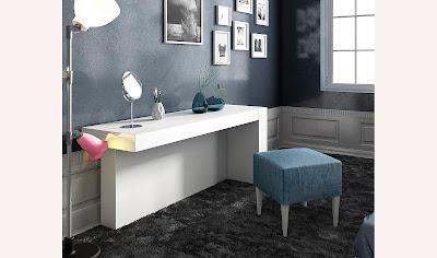 Pon un tocador en tu dormitorio - Tocador moderno dormitorio ...