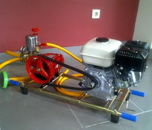 power sprayer cuci motor