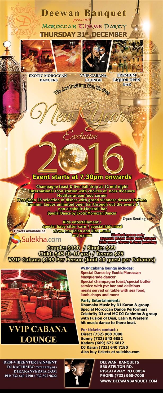 Deewan Banquet new year