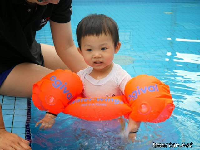 Baby Martin 39 S First Time In The Swimming Pool Events Food Tech Travel