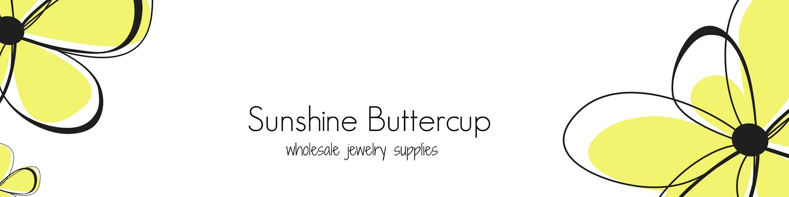 Sunshine Buttercup - Wholesale Vintage Jewelry  Supplies