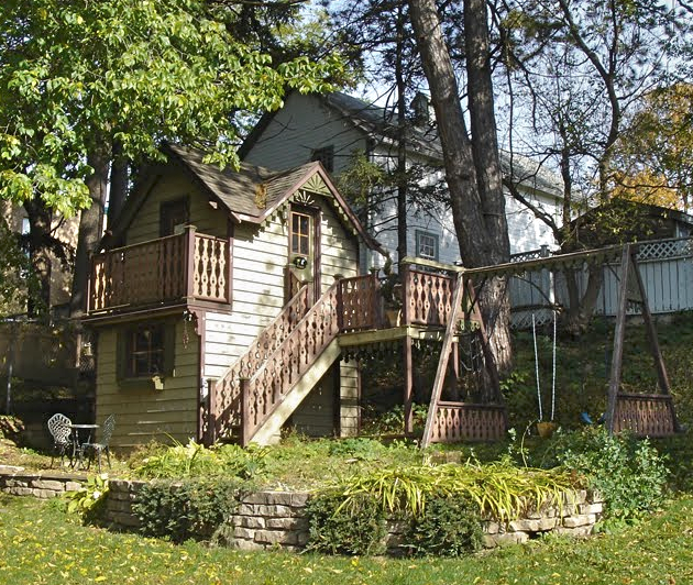 Shed With Playhouse On Top Images