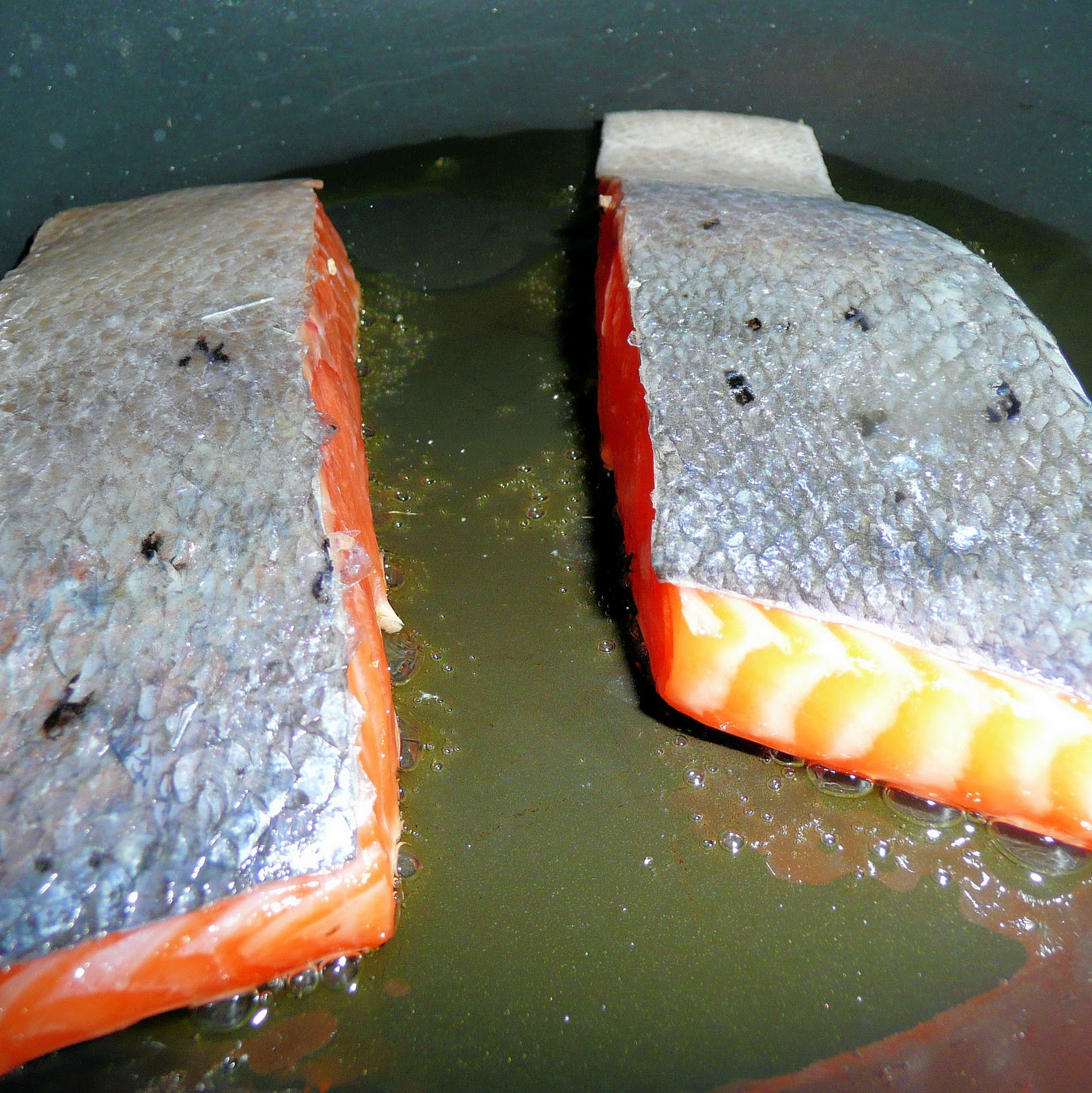 how to cook salmon in a pan youtube