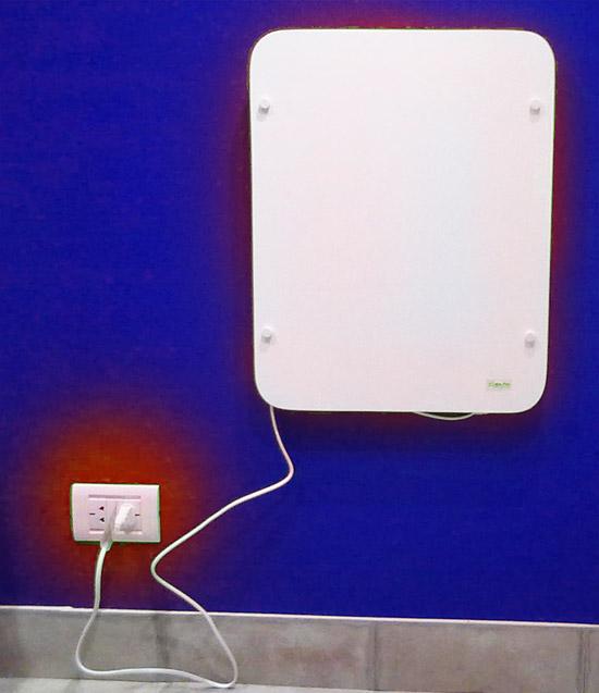 Donde el gas no llega est calorplac calorplac panel - Calefactor bajo consumo ...