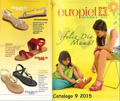 Catalogo Europiel Campaña 9 2015