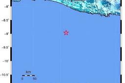 Gempa 5.6 Skala Richter di Bantul-Yogyakarta Terasa Sampai Pantai Utara
