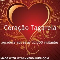 Coração Tagarela agradece aos amigos visitantes