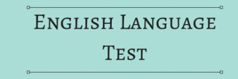 English Language Test