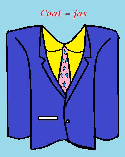 pakaian pria dalam bahasa inggris