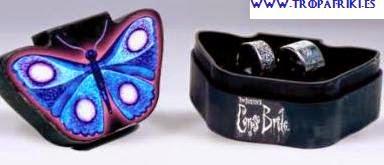 Conjunto 2 anillos Novia Cadaver de Tim Burton