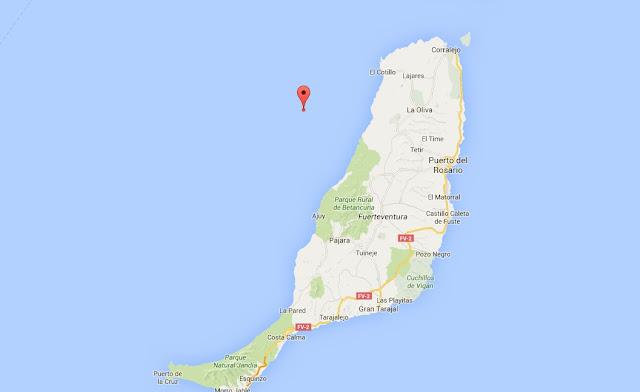 Un fuerte terremoto se siente en Fuerteventura