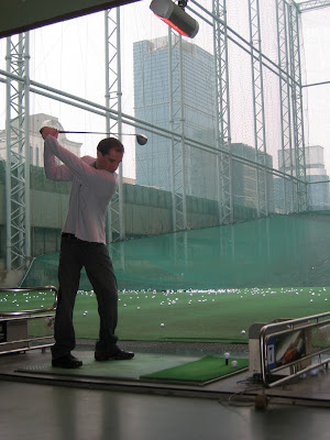 Golf Driving Range in Seoul South Korea