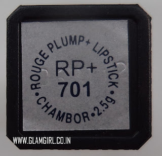CHAMBOR ROUGE PLUMP LIPSTICK IN RP+ 701