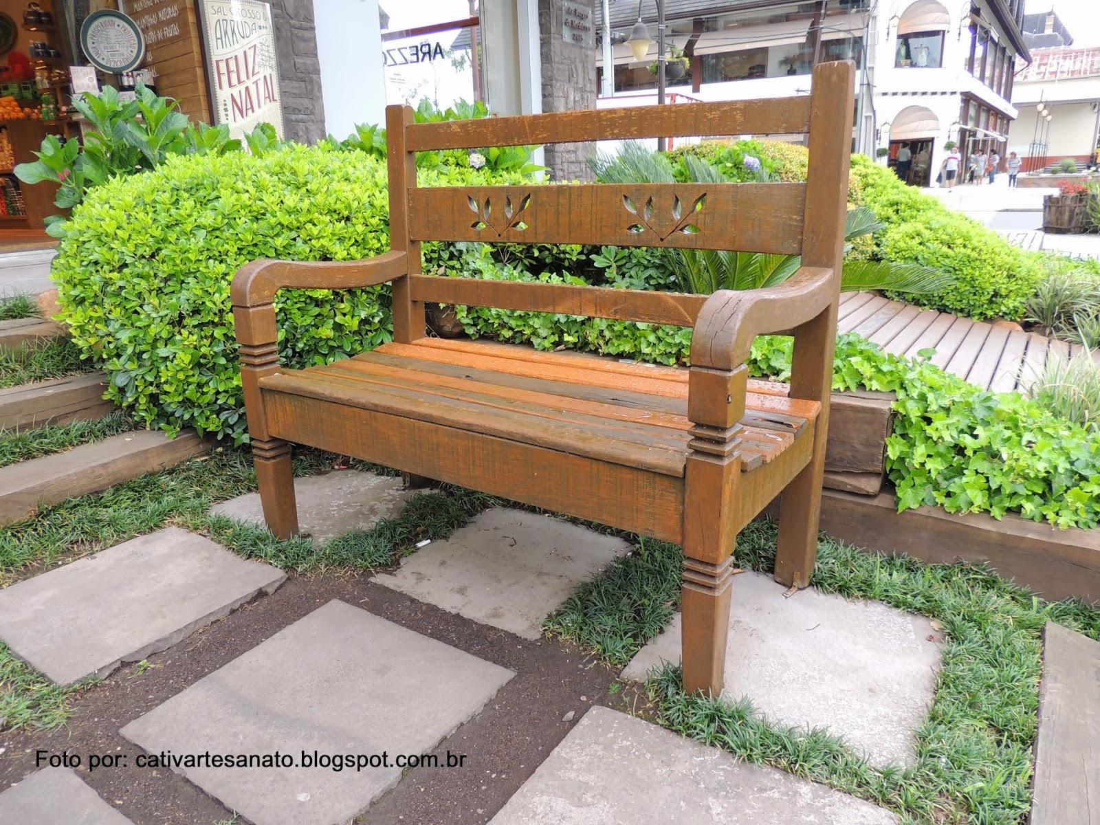 cativa artesanato: Mesa e bancos de madeira de Gramado/RS #769E2D 1600x1200