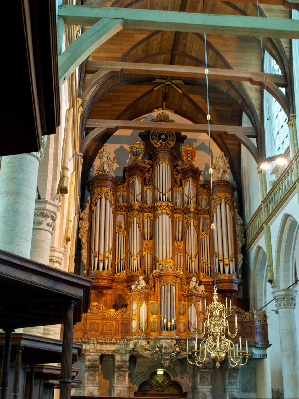 Organo Vater-Müller de la Oude Kerk en Amsterdam