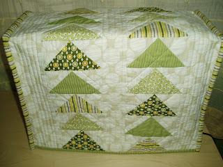 Funda de patchwork para la maquina de coser