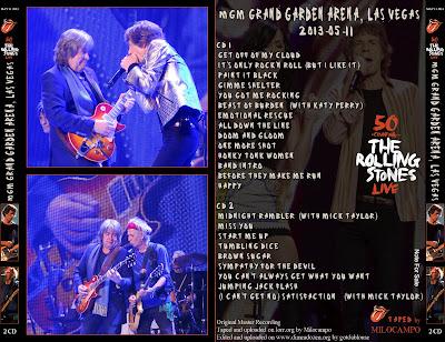 The Rolling Stones - 2013-05-11 - Las Vegas, CA (AUD/FLAC)
