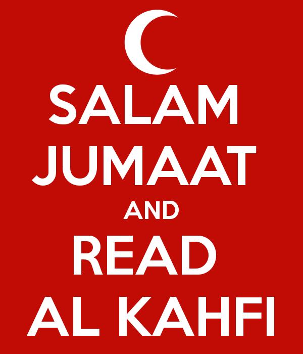salam jumaat baca al kahfi