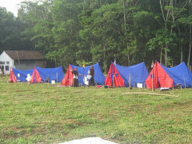 Tutup Semester Ganjil dengan Perkemahan Sabtu Ahad Senin ( Persanin )