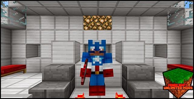 Superheroes Unlimited Mod Capitan américa