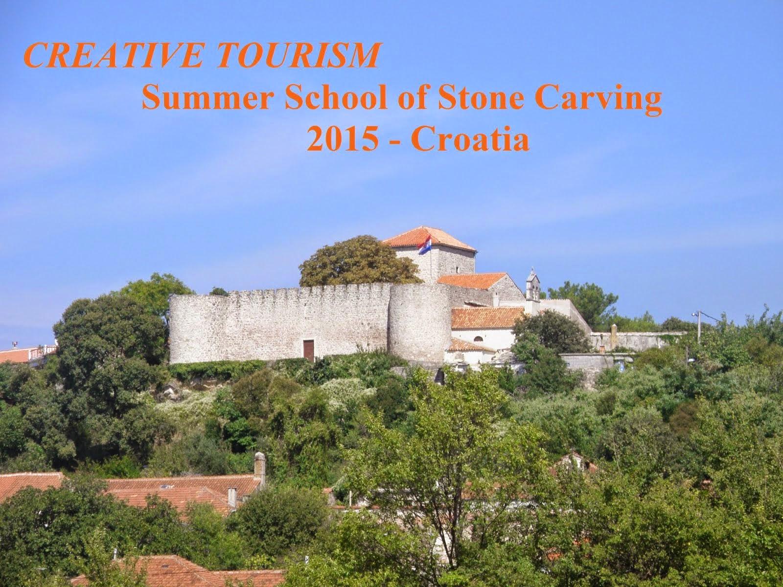CREATIVE TOURISM / Summer School of Stone Carving - Croatia